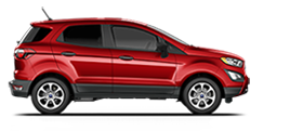 Ford EcoSport S 2020 en rouge course